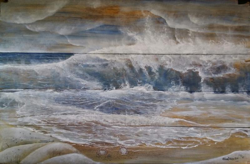 olas y mar
